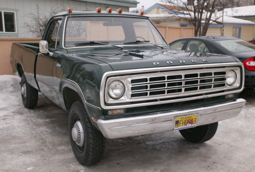 1976 Dodge Power Wagon Parts