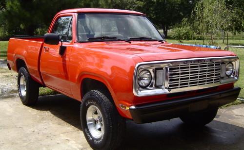 G on 1977 Dodge Power Wagon Adventurer