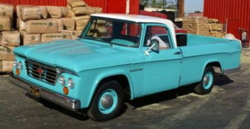 DODGE 1962 Truck Owner/'s Manual 62 Pick Up