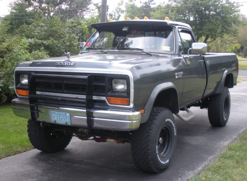 1988 dodge truck body parts